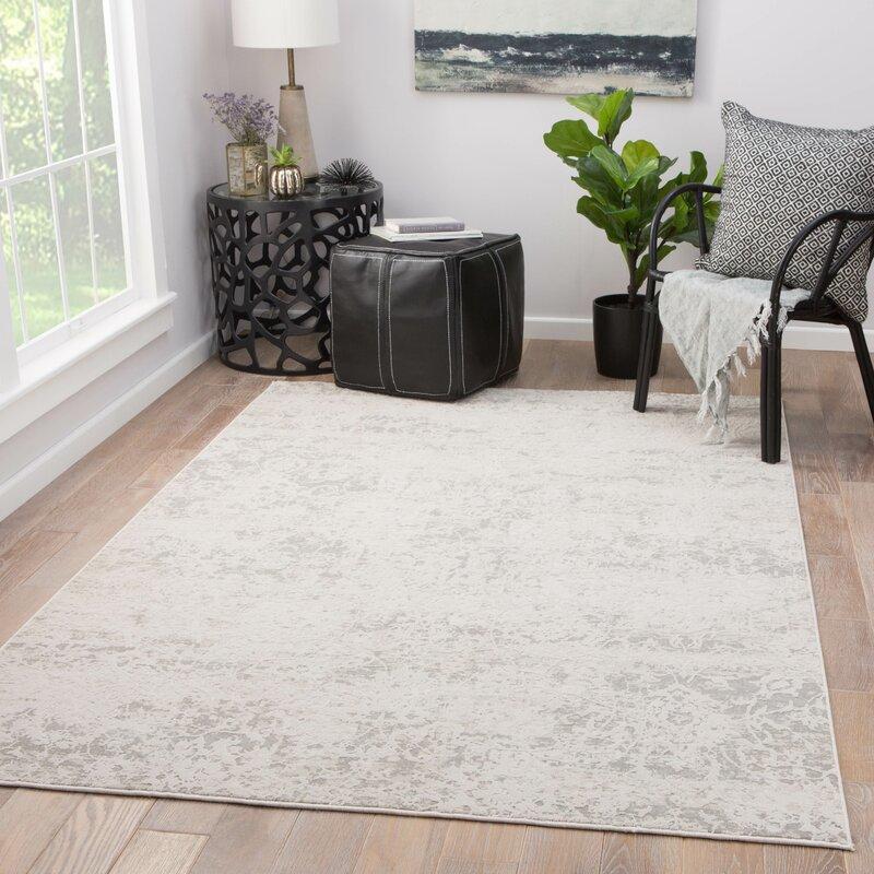 Ophelia Co Damask Gray Area Rug Reviews Wayfair