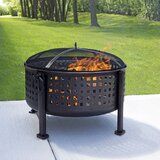 Traditions Steel Wood Burning Fire Pit
