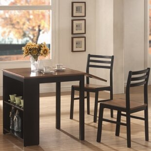 Boehmer 3 Piece Dining Set Andover Mills