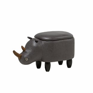 Farnham Rhino Storage Kids Ottoman by Harriet Bee