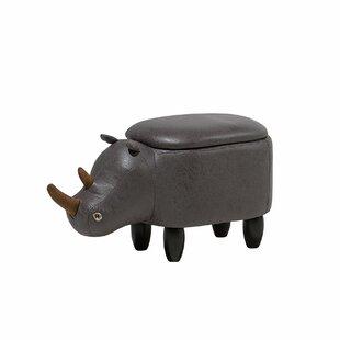 Farnham Rhino Storage Kids Ottoman by Harriet Bee