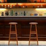 Calaysia Solid Wood 30 Bar Stool by Latitude Run®