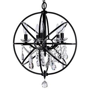 House of Hampton Benton 5-Light Globe Chandelier