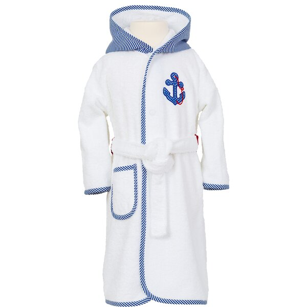 Smithy Anchor Ahoy Children\'s Dressing Gown | Wayfair.co.uk