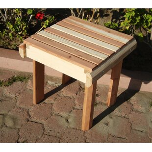 Henry Beach Wooden Side Table by Rosecliff Heights #1