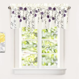 Purple Valances Kitchen Curtains You Ll Love In 2020 Wayfair
