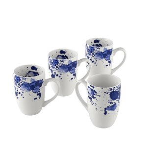 Bui Ink Splatter Coffee Mug (Set of 4)
