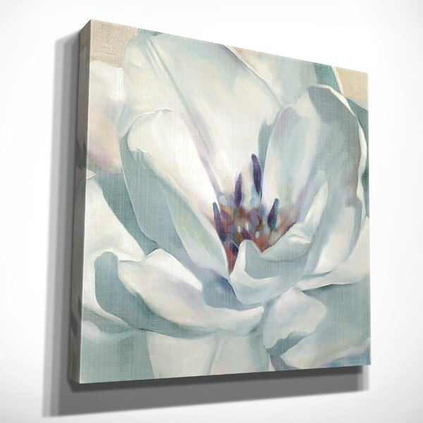 Ophelia Co Iridescent Bloom Ii Oil Painting Print On Wrapped Canvas Wayfair