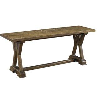 One Allium Way Plaisance Wood Bench