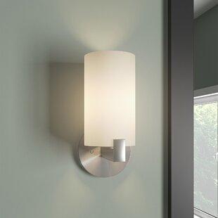 Online Reviews Kersey 1-Light Wall Light By Mercer41