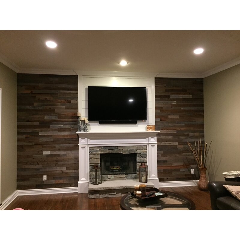 3 Reclaimed L And Stick Solid Wood Wall Paneling