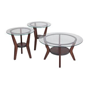 Kobe 2 Piece Coffee Table Set (Set of 3)