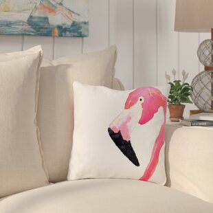 Longview Fabulous Flamingo Outdoor Throw Pillow