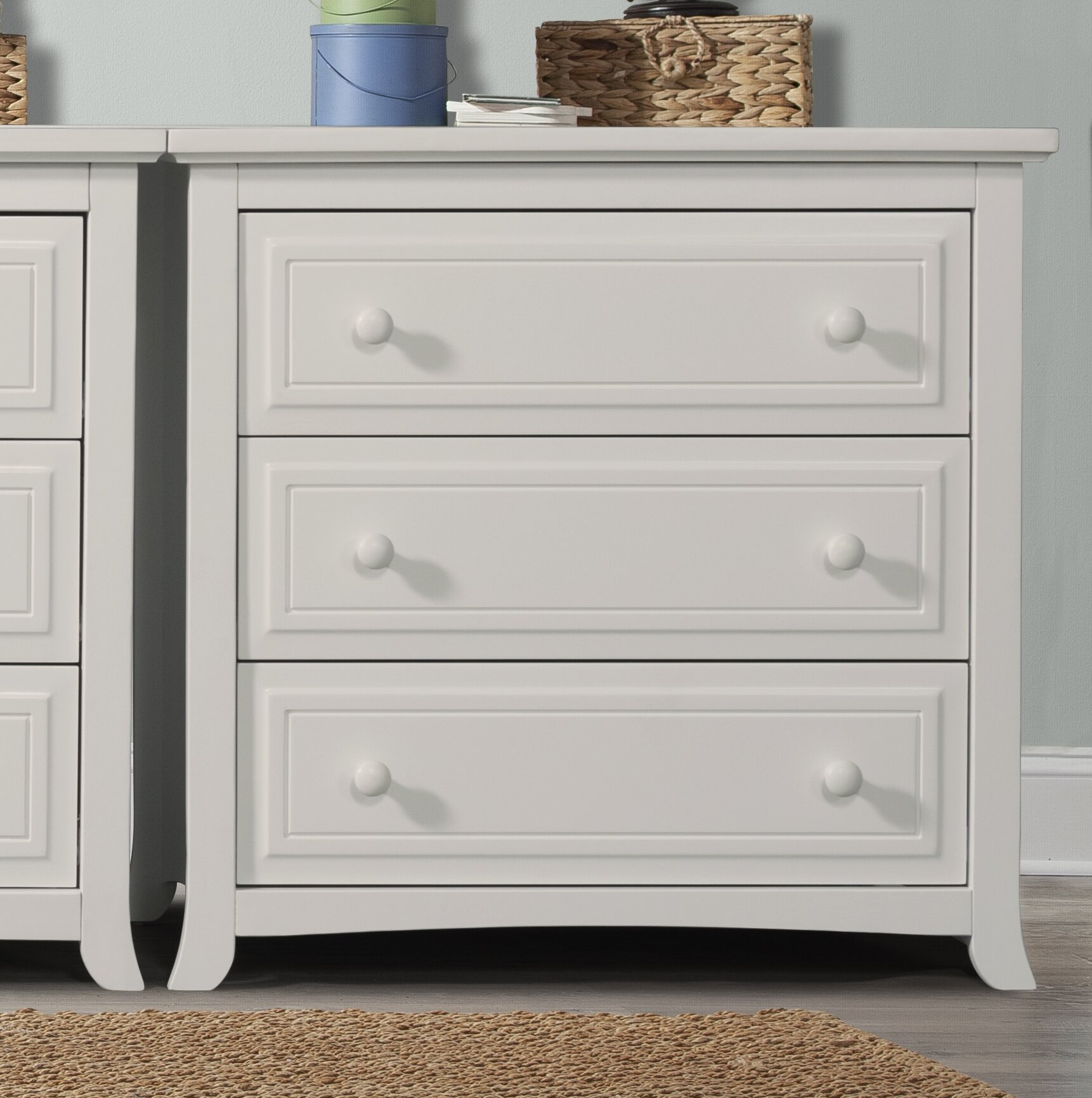 concerto signature product american drawer chest furniture white item