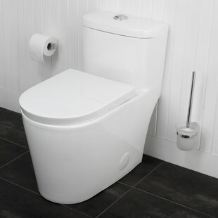 Maykke Menteith Siphonic Jets Dual Flush Elongated One-Piece Toilet