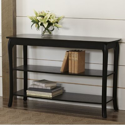 Au Console Table Color: Black by Darby Home Co