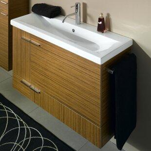 Simple 39 Single Bathroom Vanity Set by Iotti by Nameeks