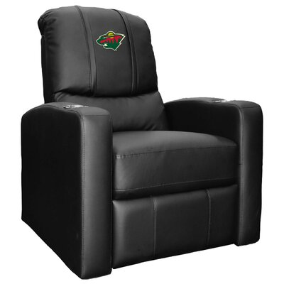 Nhl Stealth Manual Lift Assist Recliner Dreamseat Nhl Team Minnesota Wild