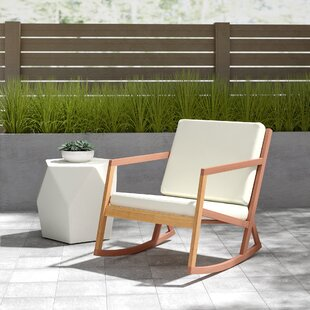 Affordable Vernon Rocking Chair with Cushions by Alcott Hill