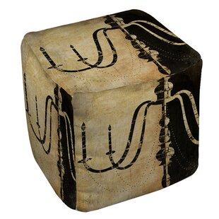 Chandelier Pouf by Manual Woodworkers & Weavers