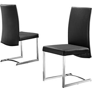 Wade Logan Skyler Upholstered Dining Chair (Set of 4)