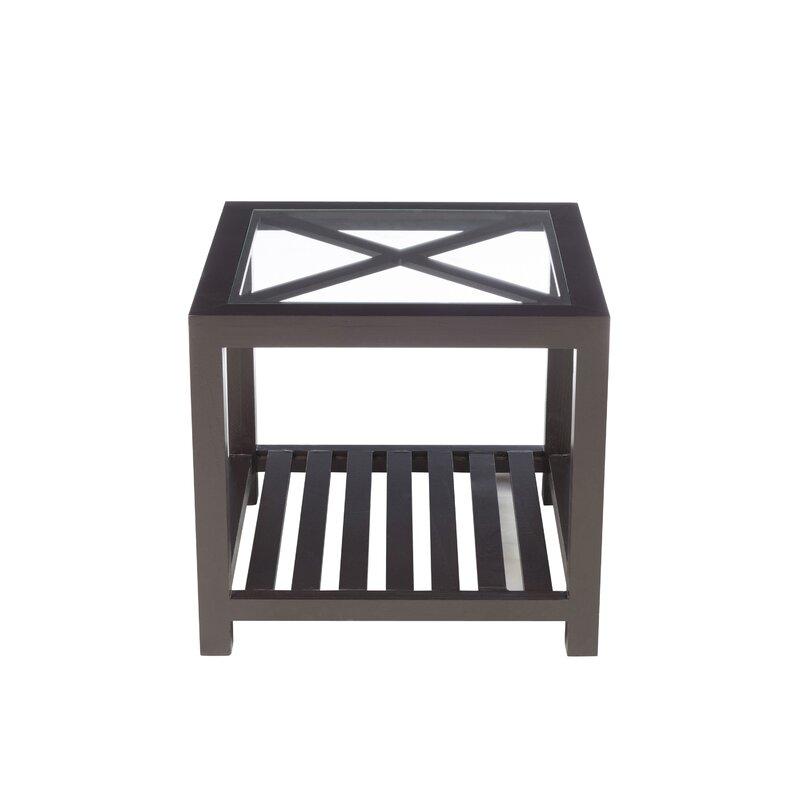 Stylish Ideas For A Sleek Sleep: Ebern Designs Mcfarlin Cross Side Table