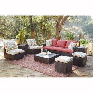 Mcmanis 8 Piece Conversation Set with Cushions