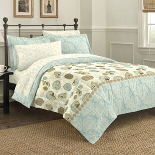 Juanita Sea Mini 5 Piece Comforter Set by Highland Dunes