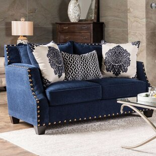 Ailis Wood Loveseat by One Allium Way
