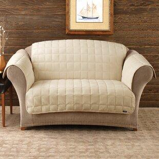 Deluxe Comfort T-Cushion Loveseat Slipcover
