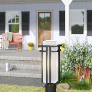 Winston Porter Weitzel Outdoor 1-Light Pier Mount Light