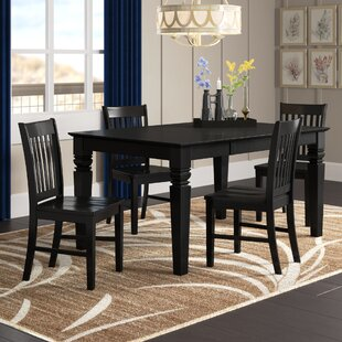 Pennington 5 Piece Dining Set by Beachcrest Home