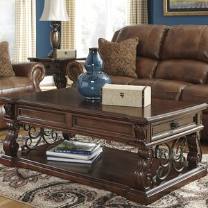 Binion Coffee Table with Lift Top