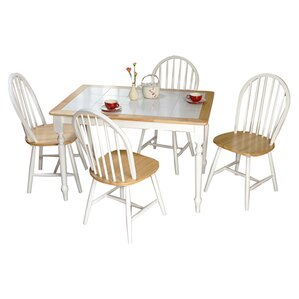 Tara 5 Piece Dining Set by TMS