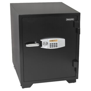 Honeywell Water Resistant Dual Digital and Key Lock Steel Fire and Security Safe 3.5 CuFt