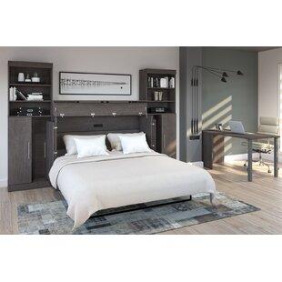 Piru Storage Murphy Bed with Mattress
