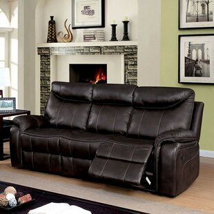 Stavros Plush Reclining Sofa By Red Barrel Studio