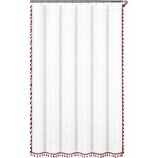 Red Shower Curtains Modern  AllModern