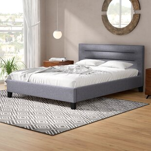 Weeks Upholstered Platform Bed by Wade Logan