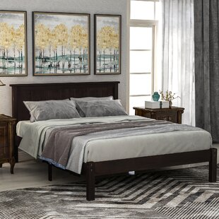Reeside Solid Wood Platform Bed