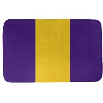 The Holiday Aisle Grainger Claus Pattern Bath Rug Wayfair