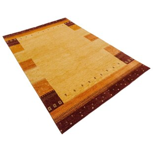 Gabbeh-Asti Hand Knotted Wool Scala Rug by Parwis