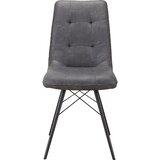 Helman Upholstered Side Chair in Black (Set of 2) by Brayden Studio®