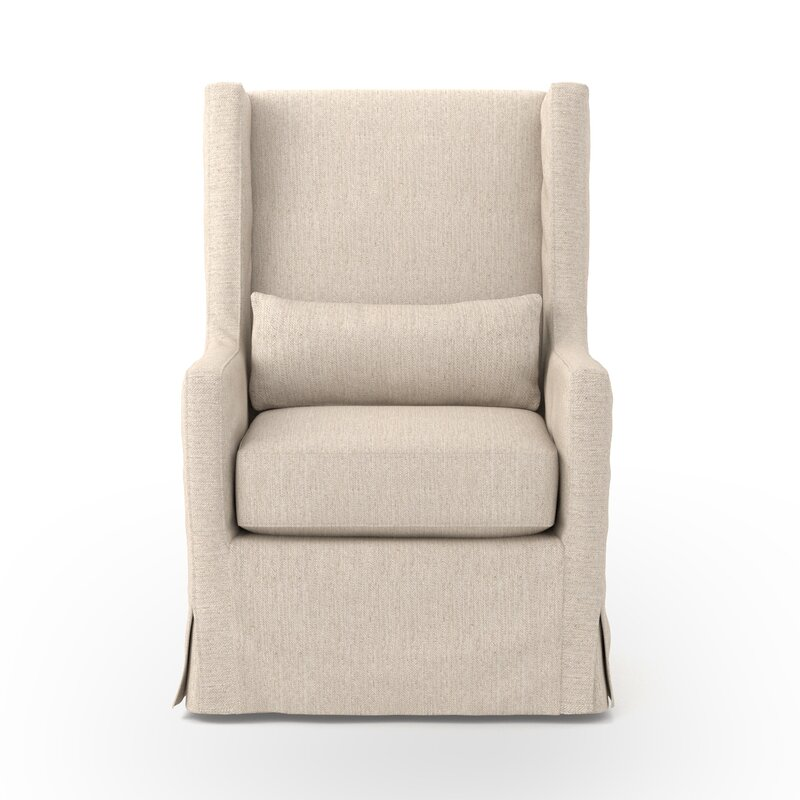 Swivel Wingback chair