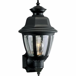 Top Reviews Deasia 1-Light Outdoor Sconce By Darby Home Co