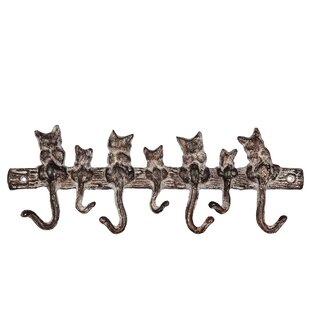 Feinberg Wall Mounted Coat Rack By Brambly Cottage