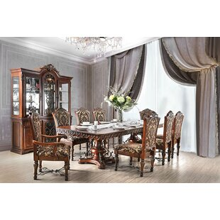 Alexandro 9 Piece Extendable Dining Set Astoria Grand