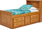 Captain Bed with Under Storage