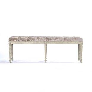 Zentique Louie Upholstered Bench