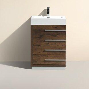Bova 24 Single Modern Bathroom Vanity By Wrought Studio